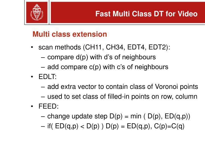 Multi class extension