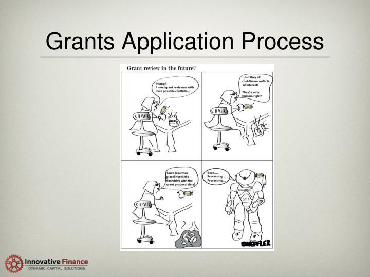 Grants Application Process