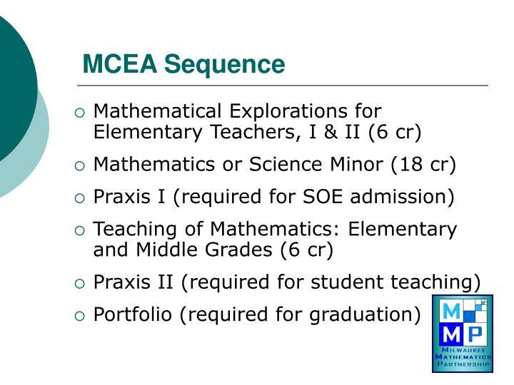 MCEA Sequence