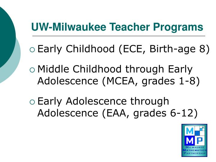 Uw milwaukee teacher programs