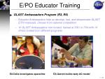 e po educator training4