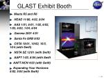 glast exhibit booth