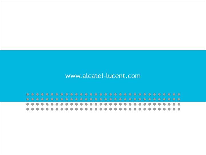 www.alcatel-lucent.com