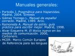 manuales generales