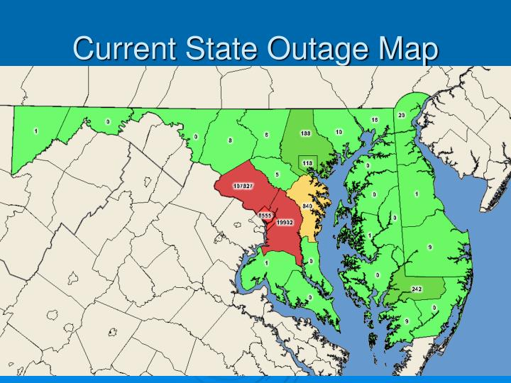 Current State Outage Map