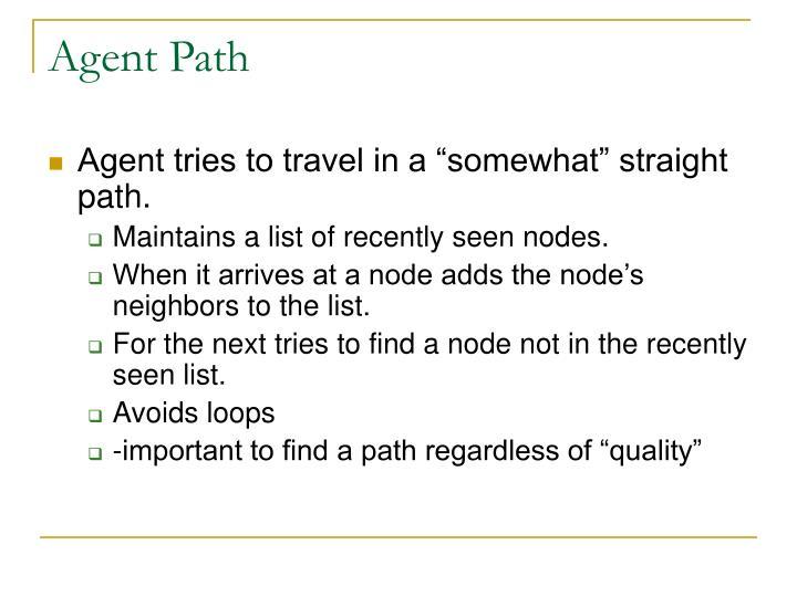 Agent Path