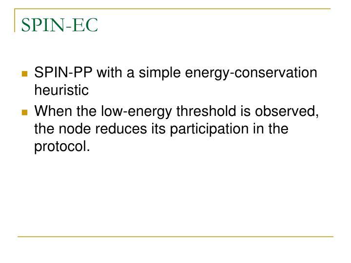 SPIN-EC