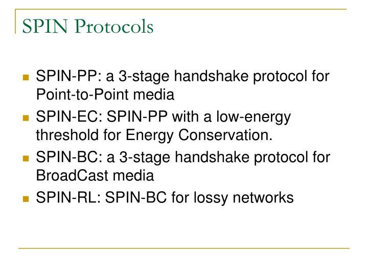 SPIN Protocols