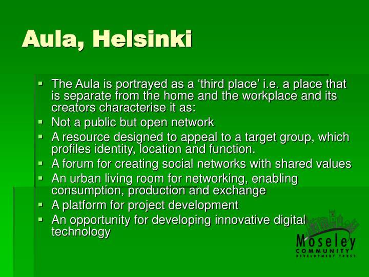 Aula, Helsinki