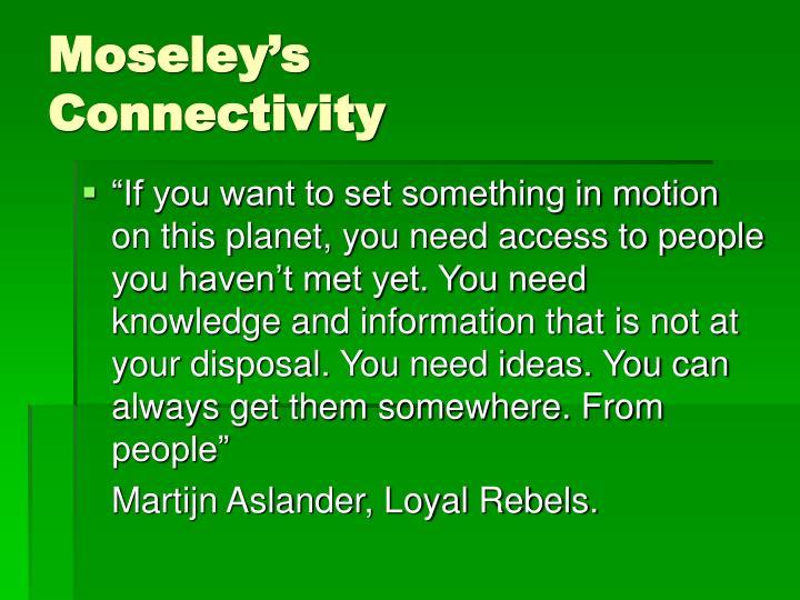 Moseley's