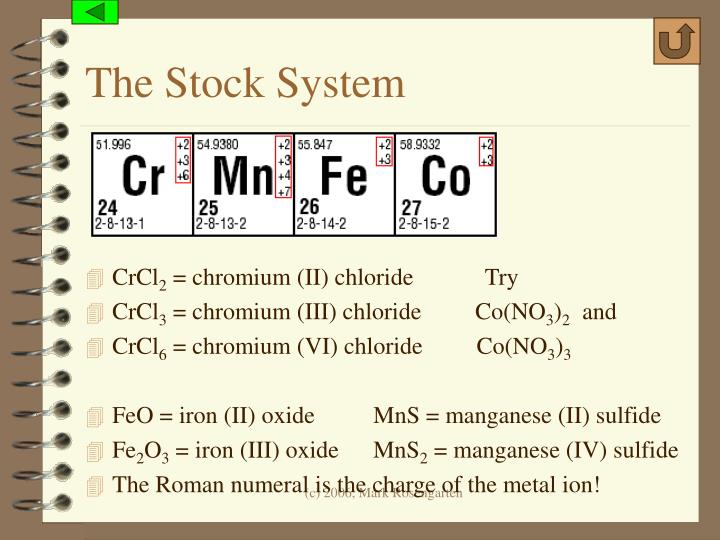 The Stock System