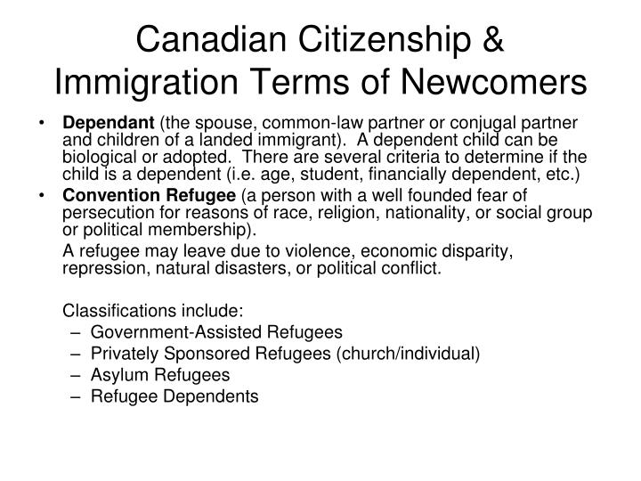 essays canadian immigration issues Academic papers on canadian studies the canadian charter of rights and freedoms this 7 page paper provides an overview of the document and argues that the charter is too lenient and obstructs justice.