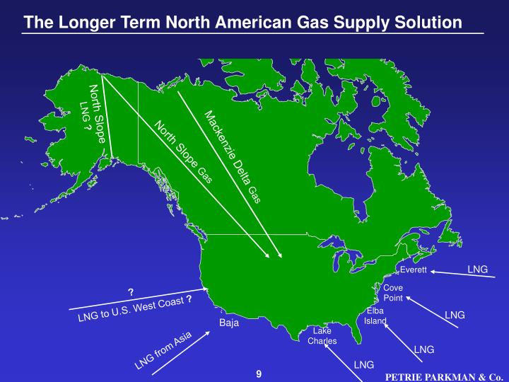 The Longer Term North American Gas Supply Solution