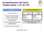 compr hension de l crit toutes s ries lv1 et lv2