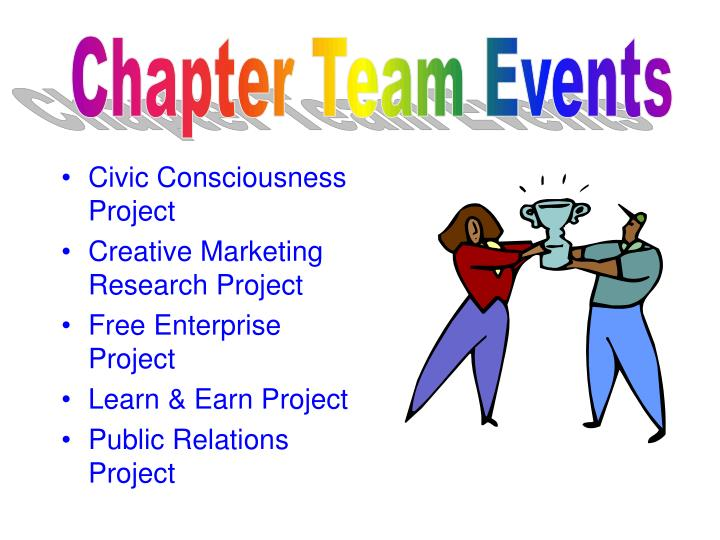 Chapter Team Events