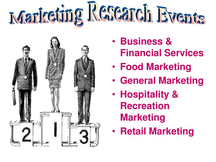 Marketing Research Events