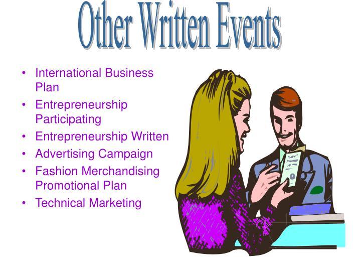 International Business Plan