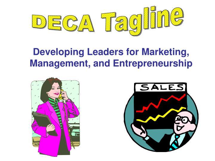 DECA Tagline