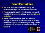 bond enthalpies1