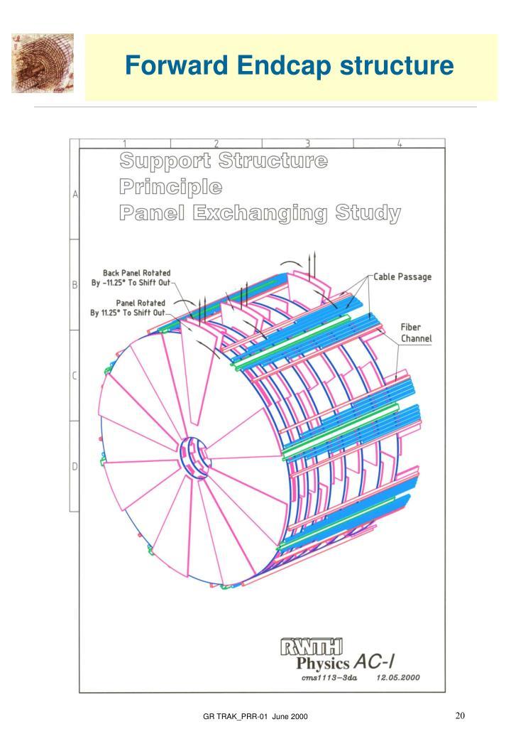 Forward Endcap structure