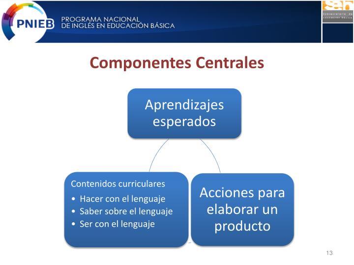 Componentes Centrales