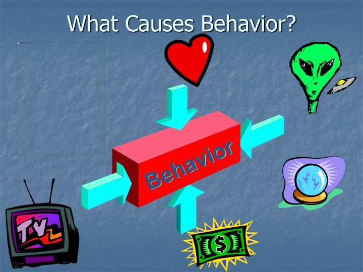 What Causes Behavior?