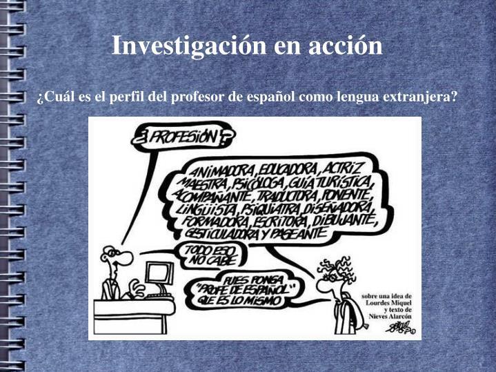 Investigaci n en acci n