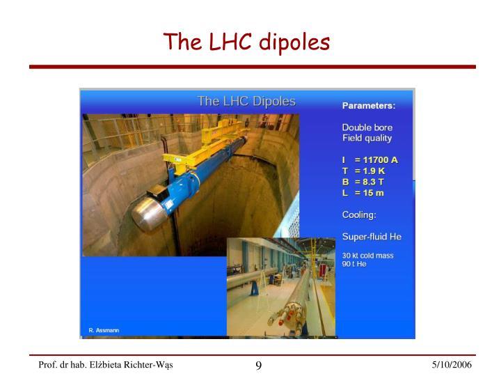 The LHC dipoles