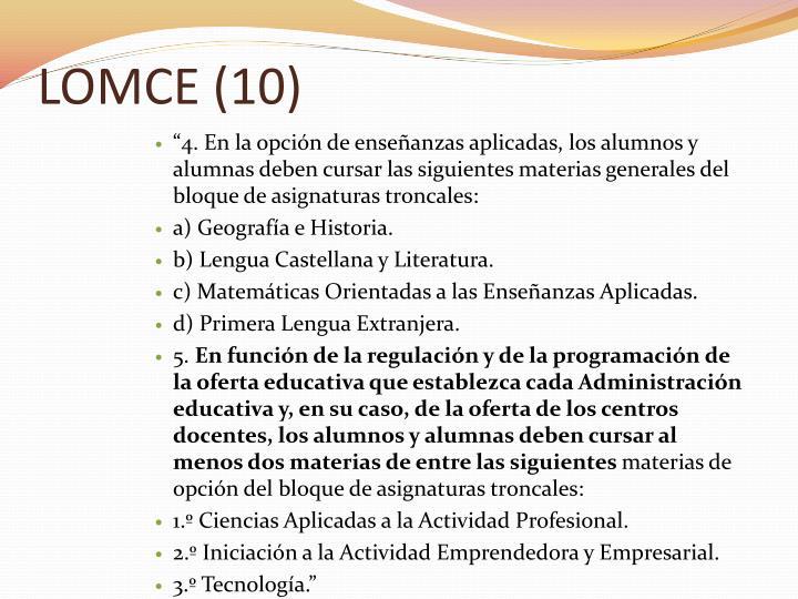 LOMCE (10)