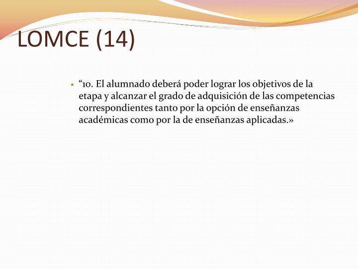 LOMCE (14)