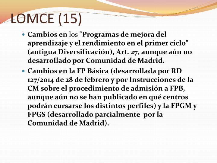 LOMCE (15)