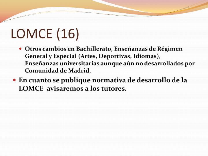 LOMCE (16)