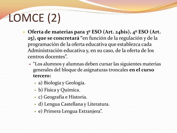LOMCE (2)