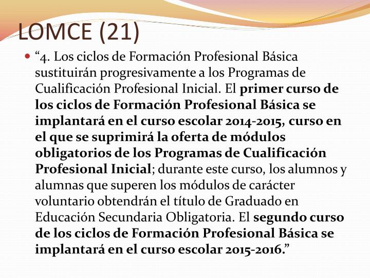 LOMCE (21)