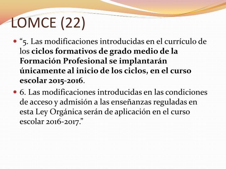 LOMCE (22)