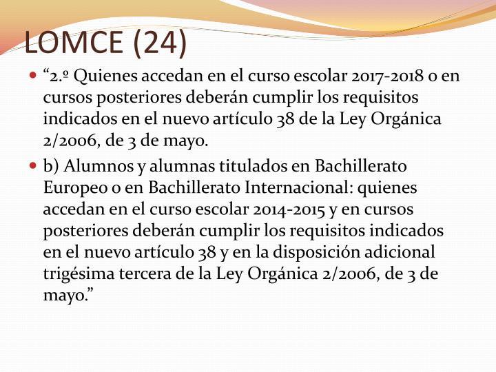 LOMCE (24)