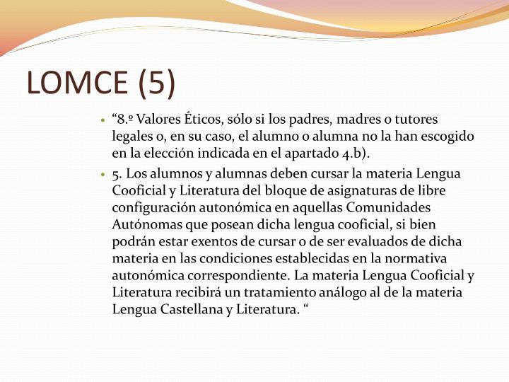 LOMCE (5)