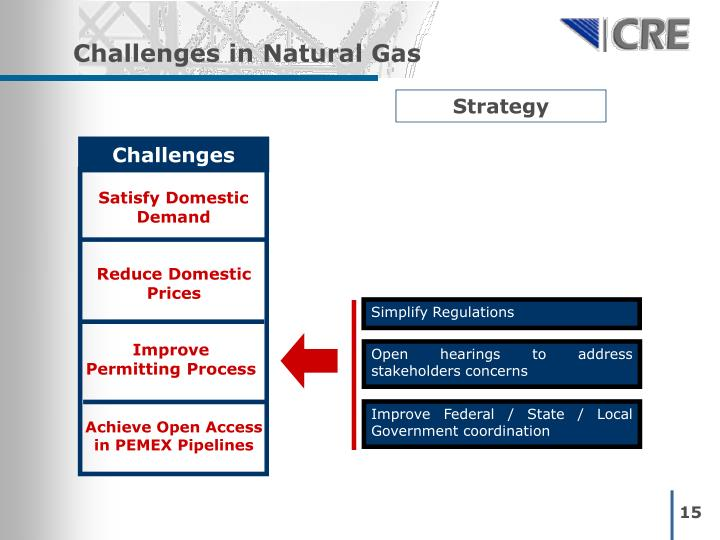 Challenges in Natural Gas