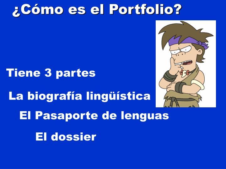 ¿Cómo es el Portfolio?