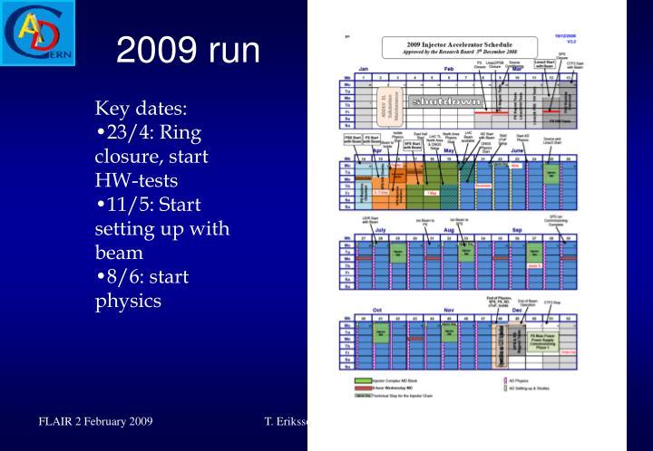 2009 run