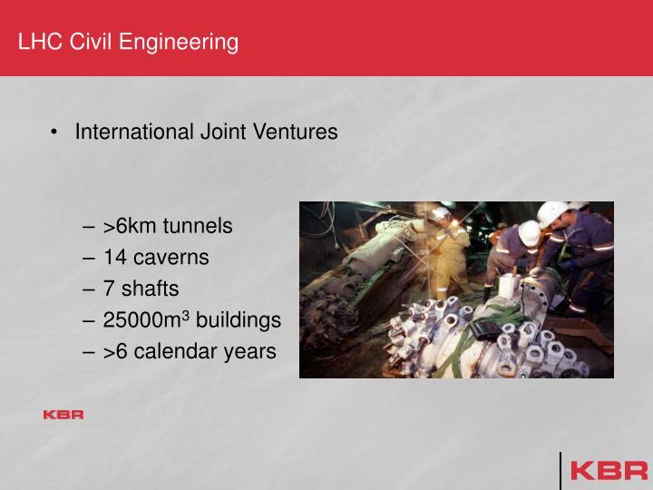 LHC Civil Engineering