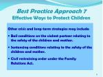 best practice approach 7 effective ways to protect children5