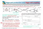 higgs pair production and higgs self coupling