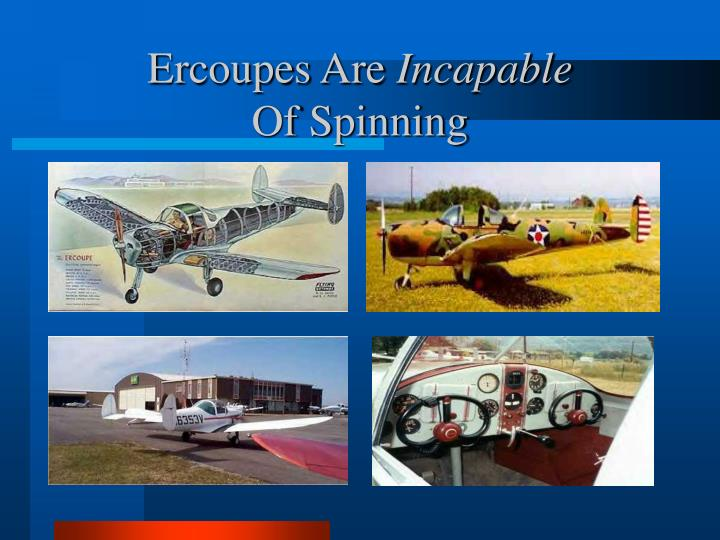 Ercoupes Are