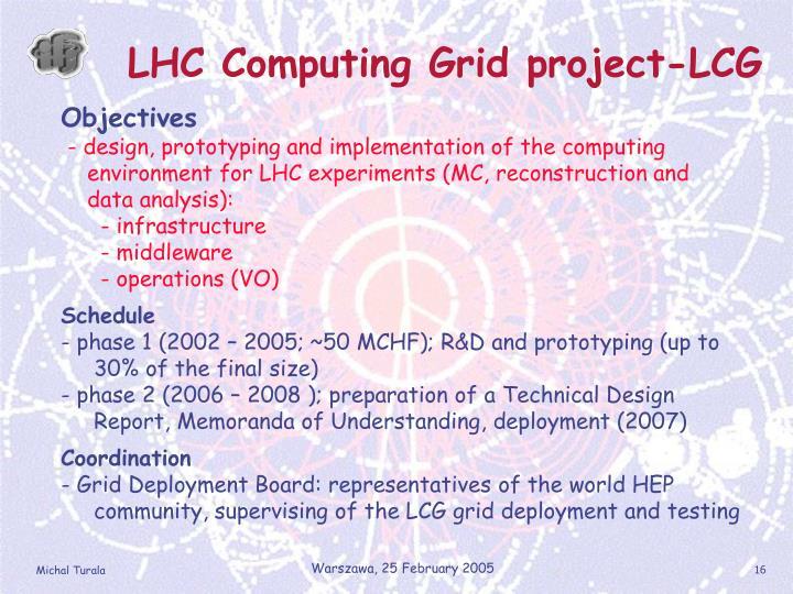 LHC Computing Grid project