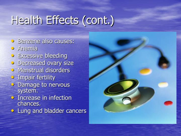 Health Effects (cont.)