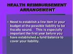health reimbursement arrangement10
