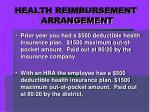 health reimbursement arrangement2