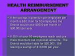 health reimbursement arrangement8