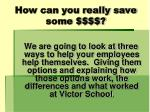 how can you really save some4